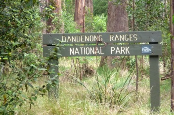 dandenong ranges sign