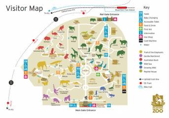 melbourne-zoo-map